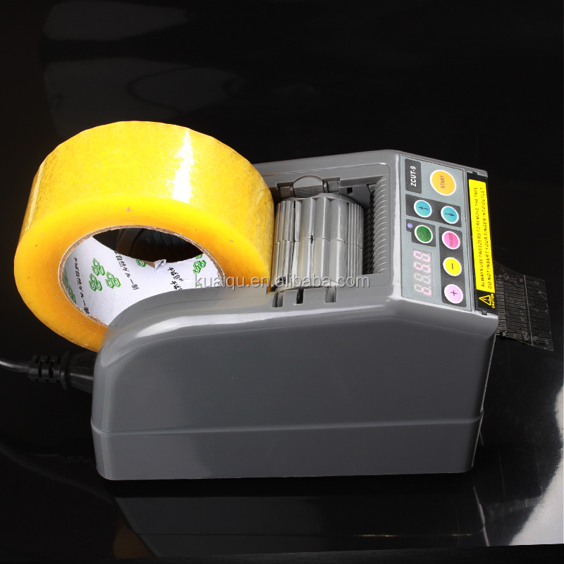 ZCUT-9 Automatic Tape Dispensers Adhesive Non Adhesive Tape Cutter Packing Machine dispensador