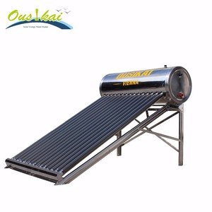 High Quality Non-Pressurized Stainless Steel Solar Water Heater