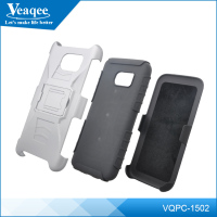 Veaqee 3 in 1 Plastic Hard Cell Phone Case for iPhone 6 / for iPhone 5 Belt Clip Case
