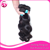 Grade 8A unprocessed wavy wholesale 100% raw peruvian hair in china