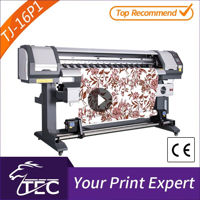 outdoor 1.6m 1 pc pc3200 head sublimation home textile printing machine for fabric flower
