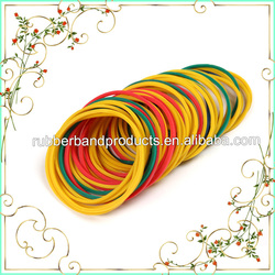 High Quality Colored Elastic Band For Hair , Natural Rubber Elastic Hair Band Wholesale