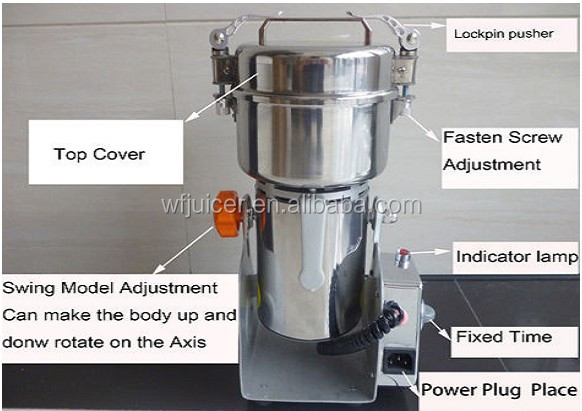 Wholesale Stainless Steel small spice grinder mill