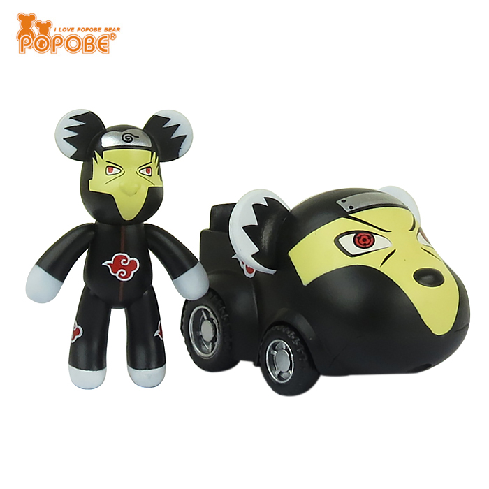Lovely 2inch Toy  Car Bear Toy Gift  Mini Car Figure For Kids