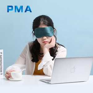 Natural Silk Sleep Mask Smooth Blindfold Best Sleeping Eye Mask with Adjustable Strap