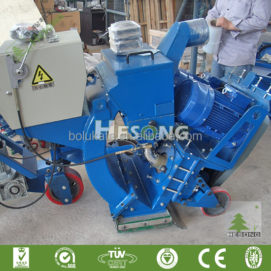 China High Quality Floor Paint Removal Machine/CE Approved Deck Surface /Mechanical Cleaning Ceramic Tile