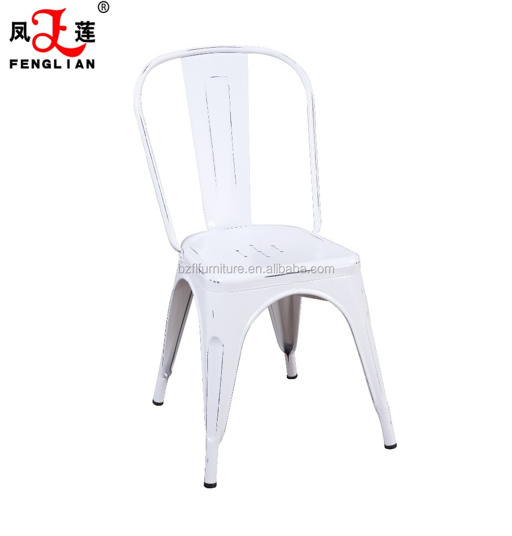 2017 metal antique and retro restaurant chairs and tables, stacking renting chair for sale