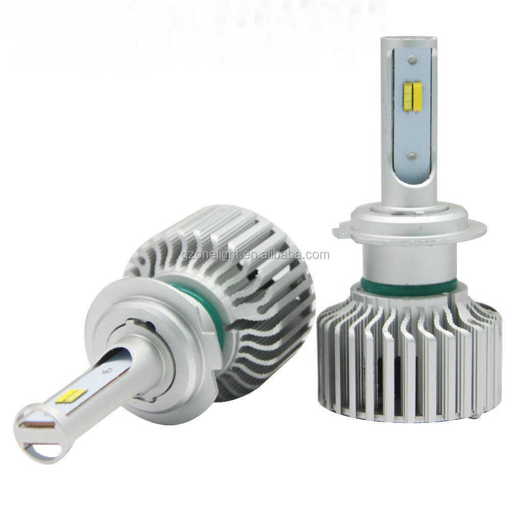 Onelight LED Dual Color 8000lm 80W Z1 P7 P6 p9 h7 9004 led headlight light front canbus hid led kit