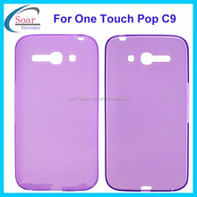 pudding tpu case for Alcatel One Touch Pop C9,plain tpu case for Alcatel One Touch Pop C9 cover