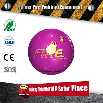 CE,SGS certificated automatic warehouse fire extinguisher ball