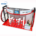 High quality wooden exhibition booth with furniture display used trade show booths