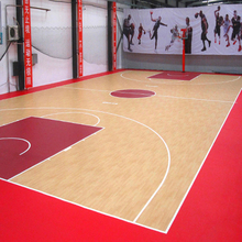 pvc sponge sports plank flooring vinyl plank roll for basketball court
