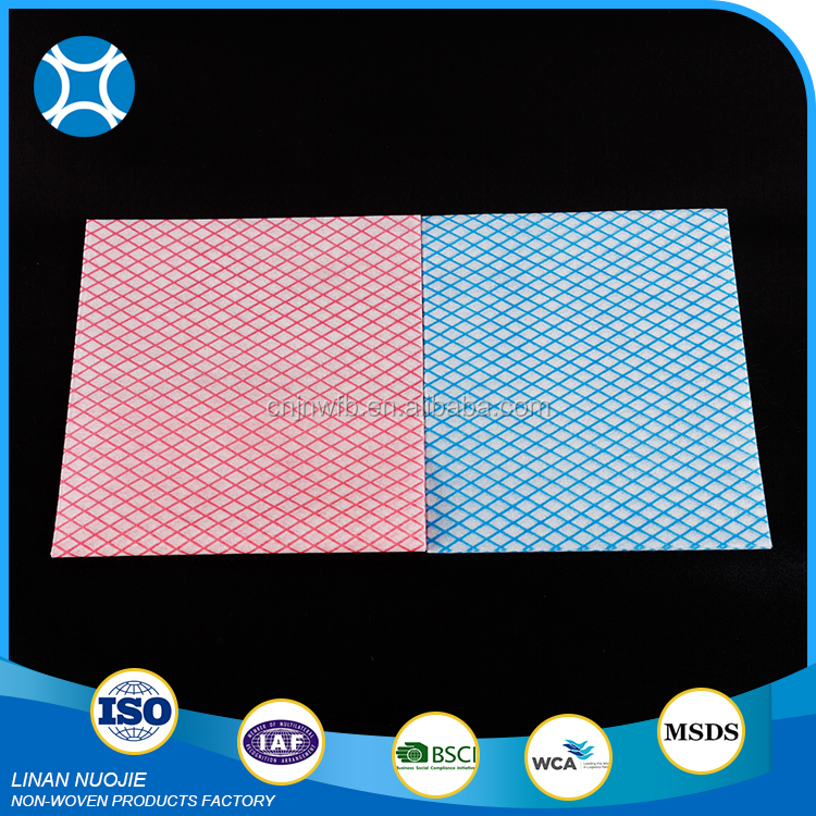High Quality Different Color Nonwoven Cleaning Kitchen Bond Wipe