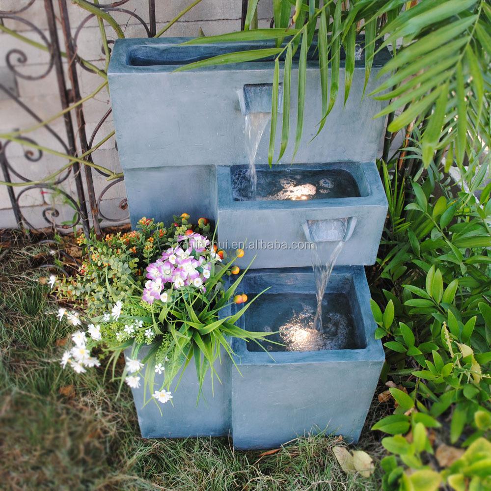Polyresin Fiberglass Fengshui Products Indoor Water