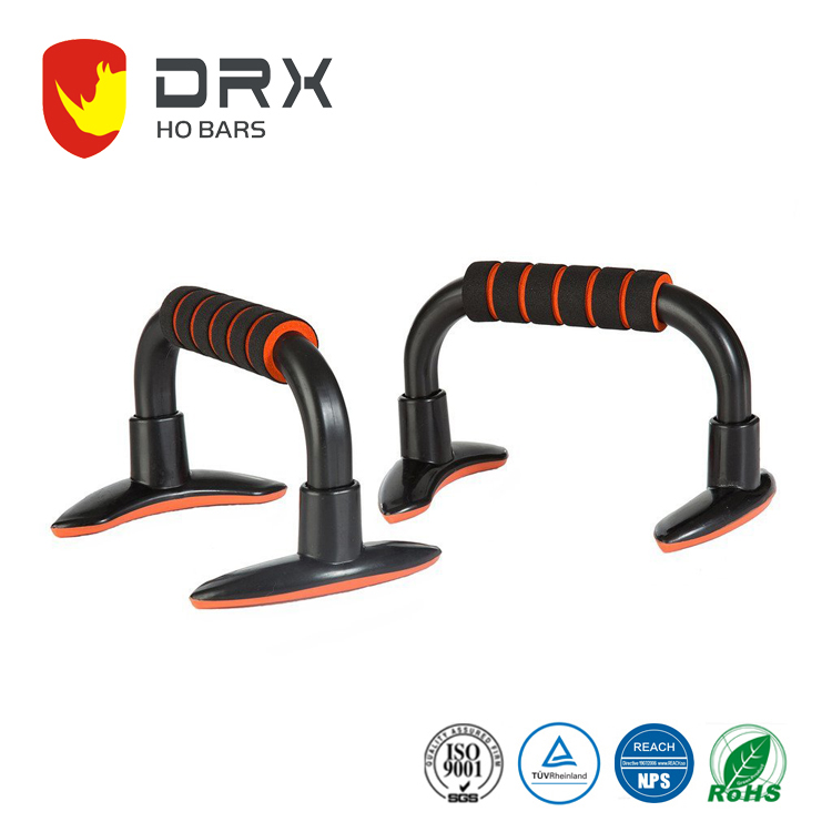 DRX free standing Angled Incline bar Push Up Bar for muscle pushup exercise