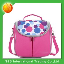 2015 new design fantasy dot fahsion high quality bulk solar cooler bag