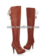 sexy high heel boots women 2014 fashion design shoes laides long boots CP6400