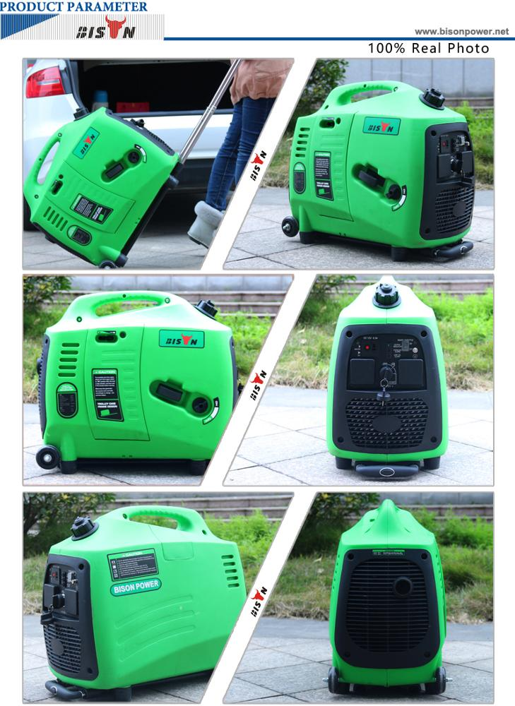 bison china 2kva inverter generator with utral silent easy