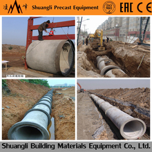 new type building materials concrete culvert pipe mould