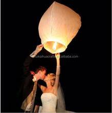 Chinese white paper sky lanterns wedding party decorations