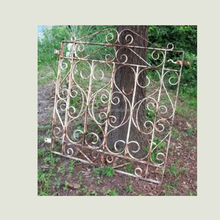 antique wrought iron small fence gate safety metal gate