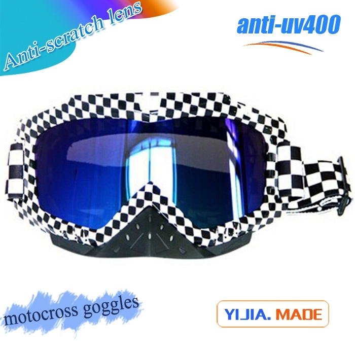TPU flexible colorful frame PC lens goggles MX hot selling low price goggles MX guangzhou China