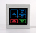 1-5 Gang Master Control Touch Panel 433 Wireless Light Switch