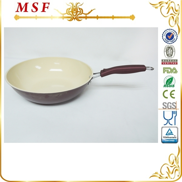 MSF 30cm ceramic carbon steel wok