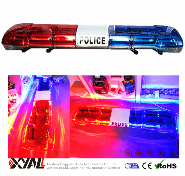 DC12V 88W Police Used With Siren & Speaker Emergency Strobe Flashing LED Warning Signal Light Bar