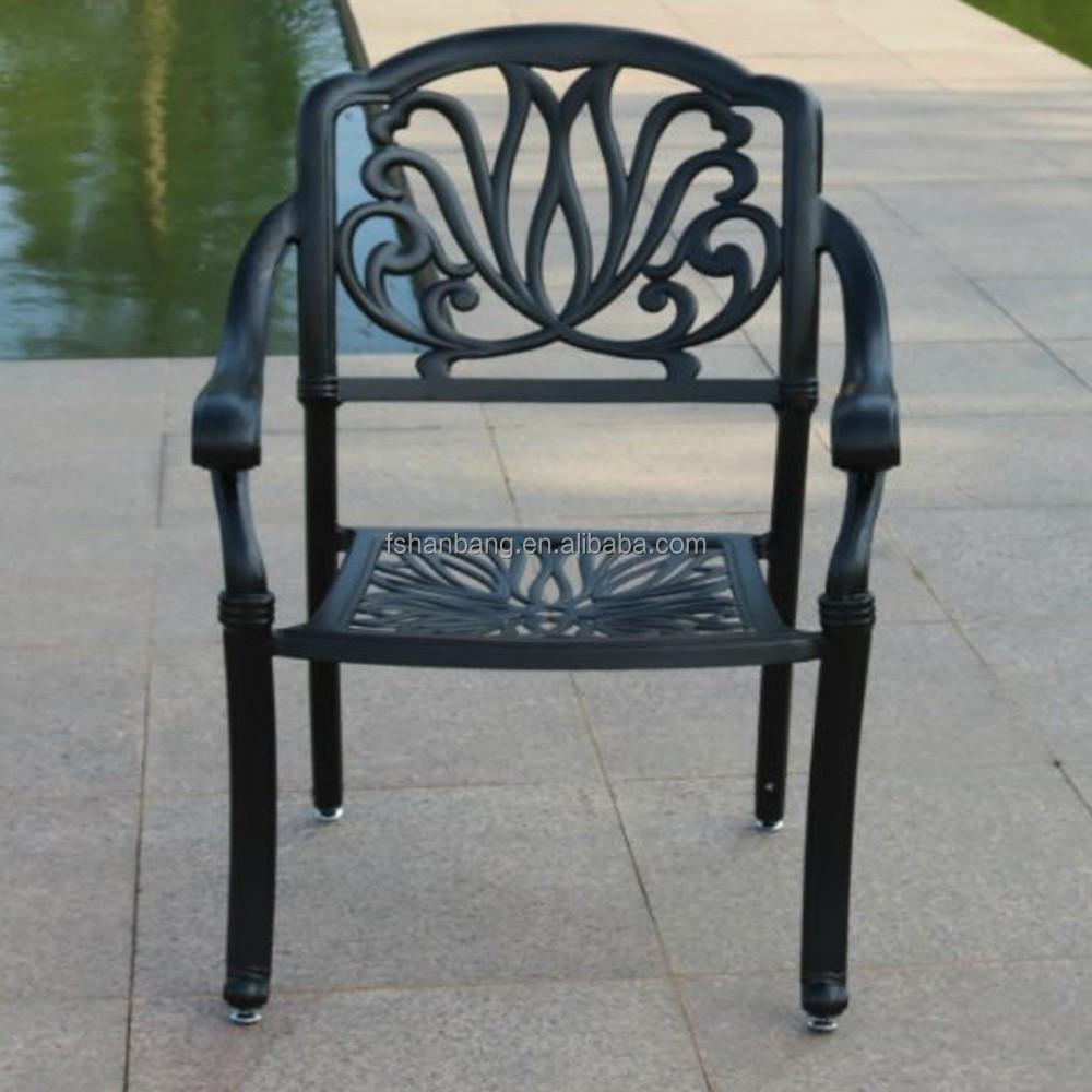 Topselling fonte d'aluminium plein air meubles de Patio ...