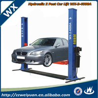 2016 Hot Sales Hydraulic Used 2 Post Car lift WX-2-4000A 3.5T 4T 4.5T