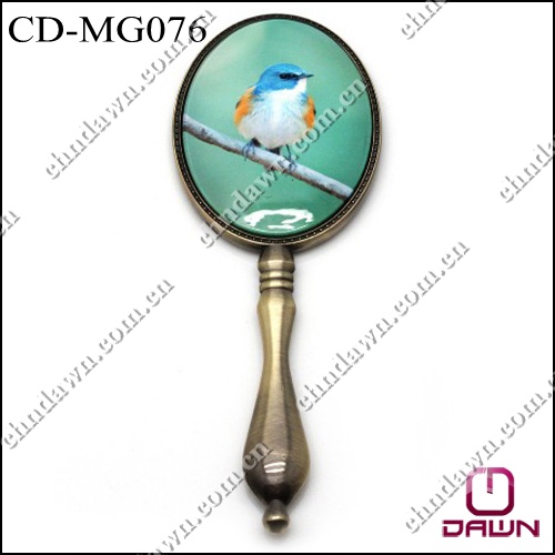 New Promotional hand mirror with logo imprint CD-MG076