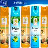 2013 Best effective dry/oil/water base 300ml aerosol air freshener