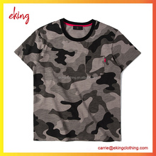 wholesale plain camo 100% cotton t shirts for men