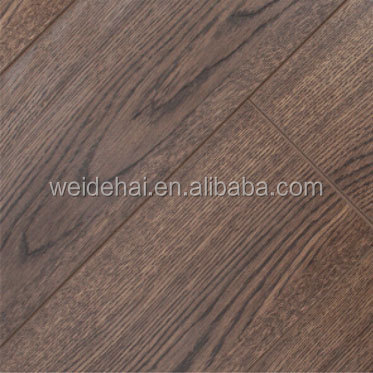 Cheapest engineered flooring distressed german technology laminate <strong>oak</strong> flooring