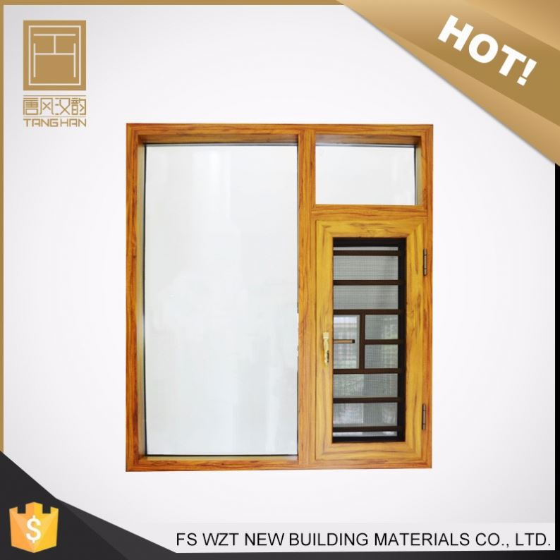 single pane Made in china double glaze casement windows