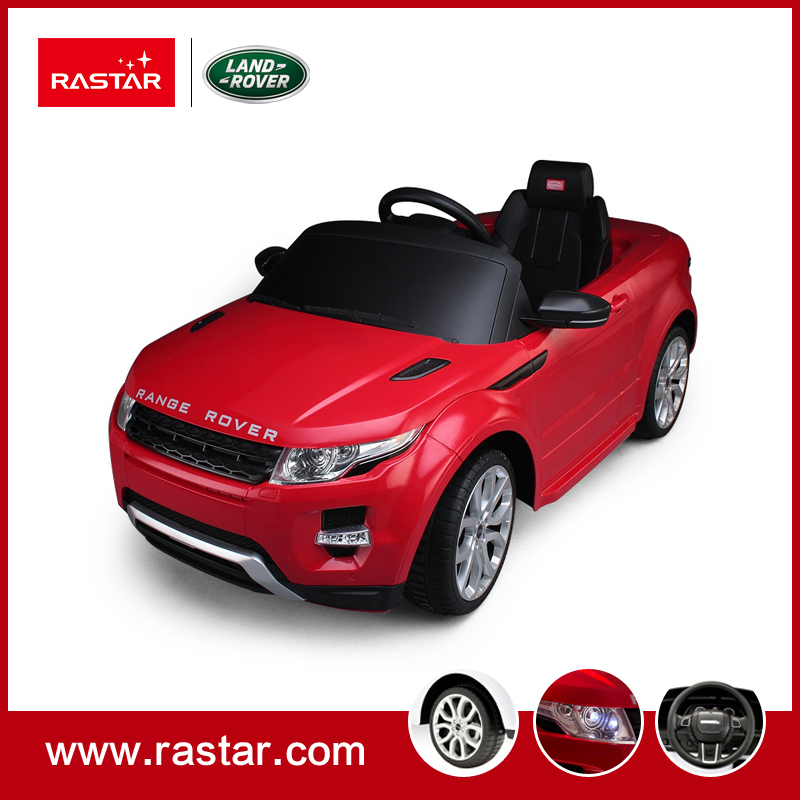 Rastar Licensed Land Rover child remote control kids ride on car