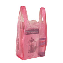 Best popular factory wholesale low price and top quality plain vest carrier handle bags for packaging flavouring
