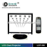 LCD Test Chart with High Definition LCP-100 Eye Test Machine