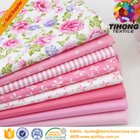 100% cotton home or hotel textile fabric for bed sheet in roll