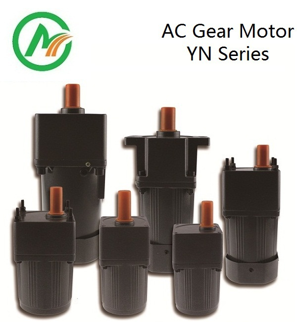 AC asynchronous gear motor YN90-90W with ears