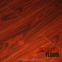 New Beautiful Red Pink Teak Wood Laminate Flooring for sale