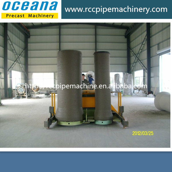 Double-position vertical vibration concrete pipe making machine, concrete culvert pipe making mold