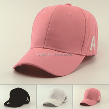 Promotional Brushed Twill Cotton hat cap with Embroidery Logo