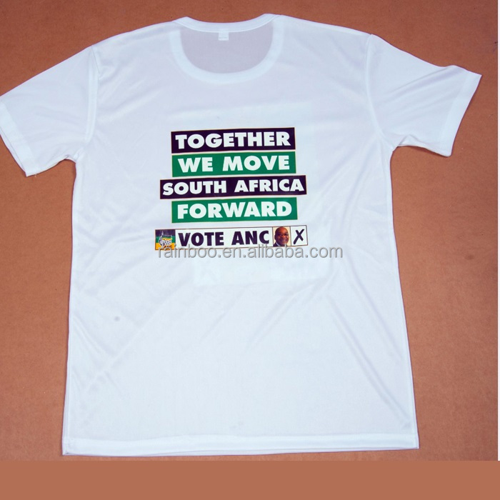 Cotton custom cheap campaign election t shirt for promotion