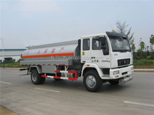 CNHTC light 4000 - 8000 L used fuel tanker truck for sale