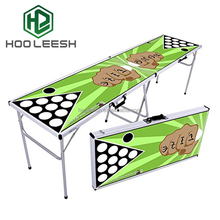 8Ft Aluminum Folding Beer Pong Table