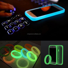 Universal Soft TPU Silicone Glow in Dark Luminous Bumper Case for iphone for samsung