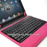 Handmade keyboard tablet case for iPad Air China Alibaba supplier