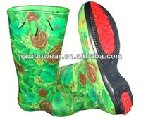 New Injection rubber duck boots for outdoor and promotion,light and comforatable